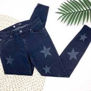KUT mia star print skinny jeans